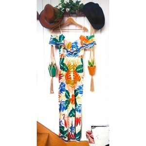 NWT Flying Tomato floral jumpsuit